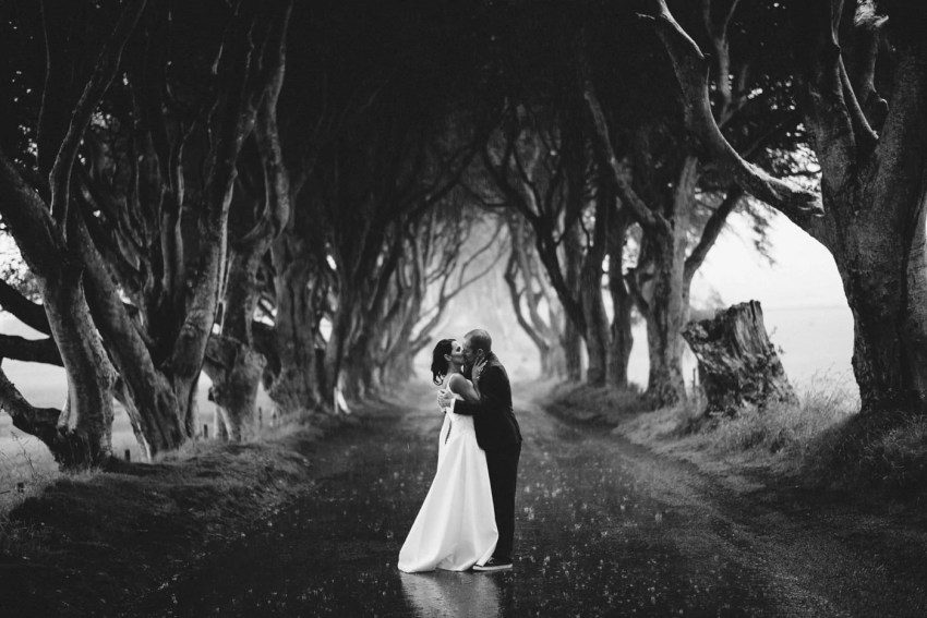 Northern Ireland Adventure elopements the Dark Hedges