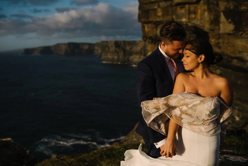 Cliffs of Moher Elopement photographer Ireland