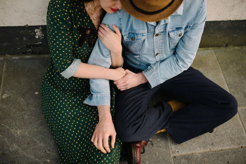 intimate connection couple portraits