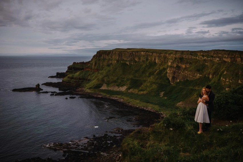Giants Causeway elopement Northern Ireland