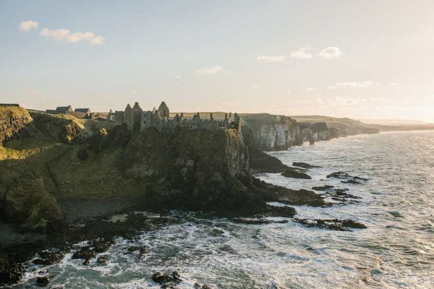Dunluce Castle elopement Northern Ireland elopements