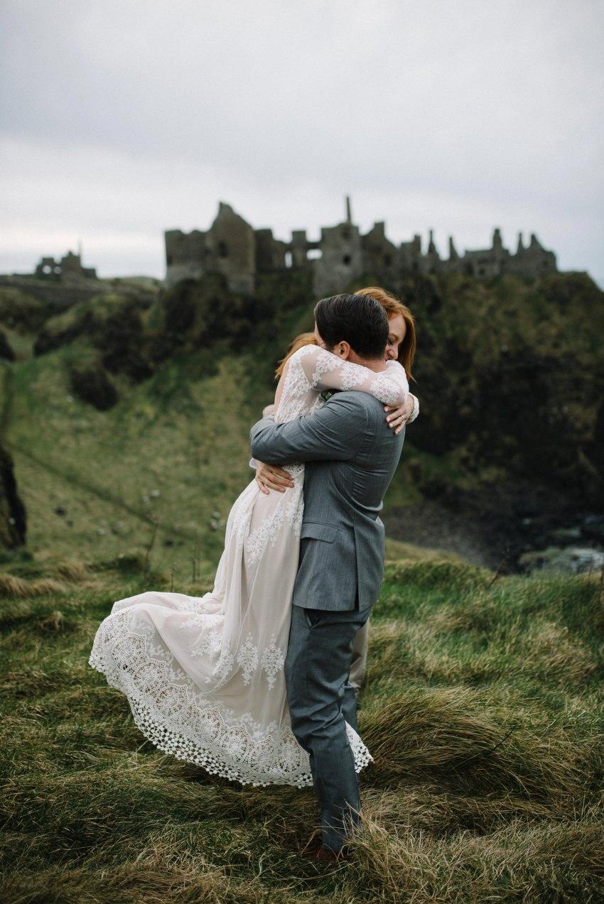 Dunluce Castle Elopements Northern Ireland Irish elopement_0047.jpg