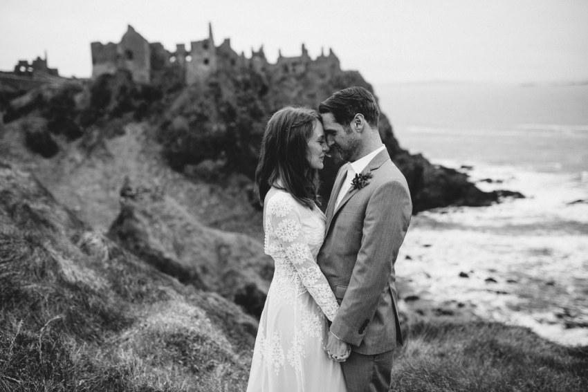 Dunluce Castle Elopements Northern Ireland Irish elopement_0064.jpg