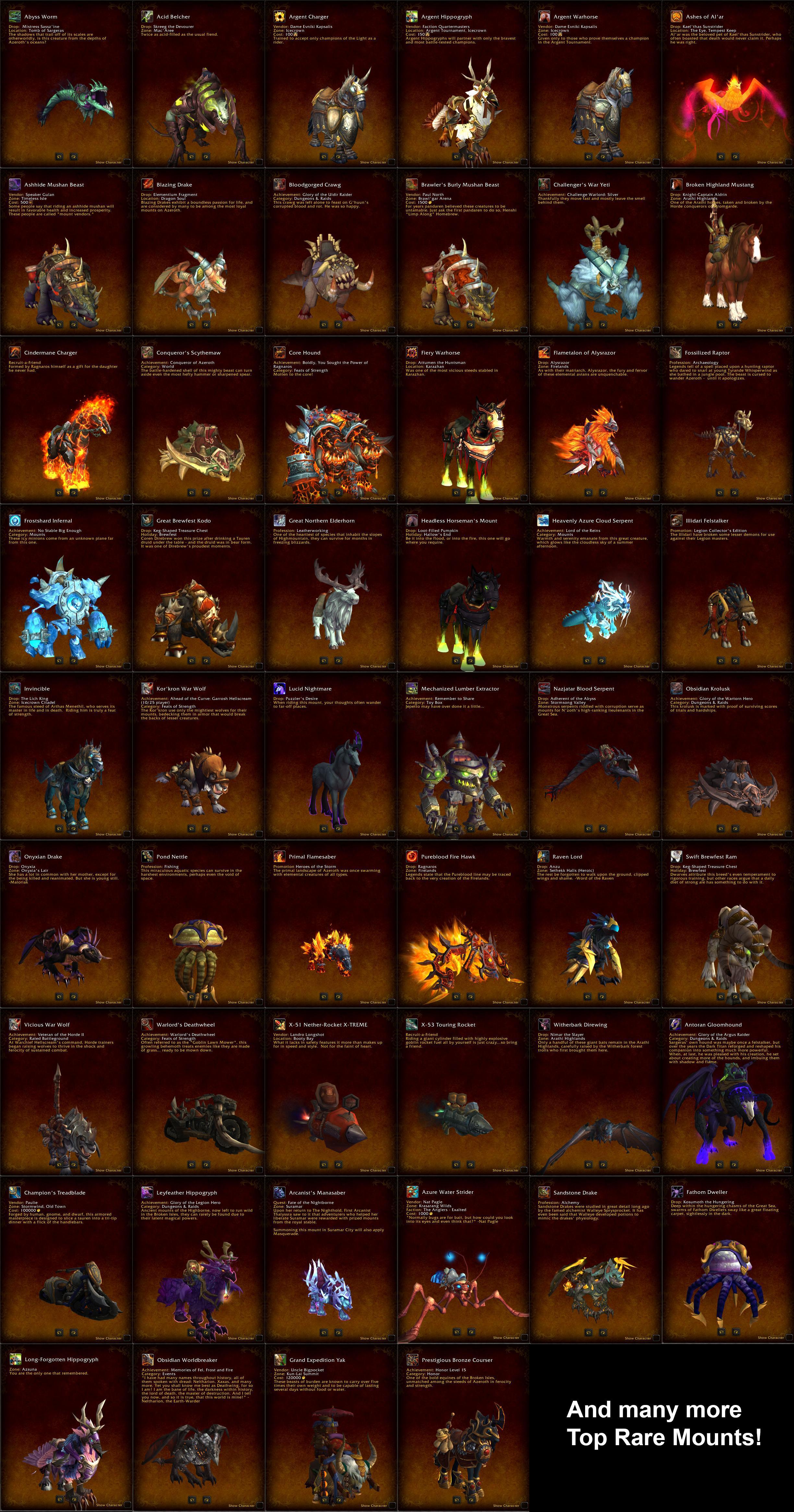 Dungeons That Drop Mounts : dungeons, mounts, Selling, 1x60&17x50,, Mounts,, Weap,, Legs,, Unobtainables,, Epic., EpicNPC, Marketplace