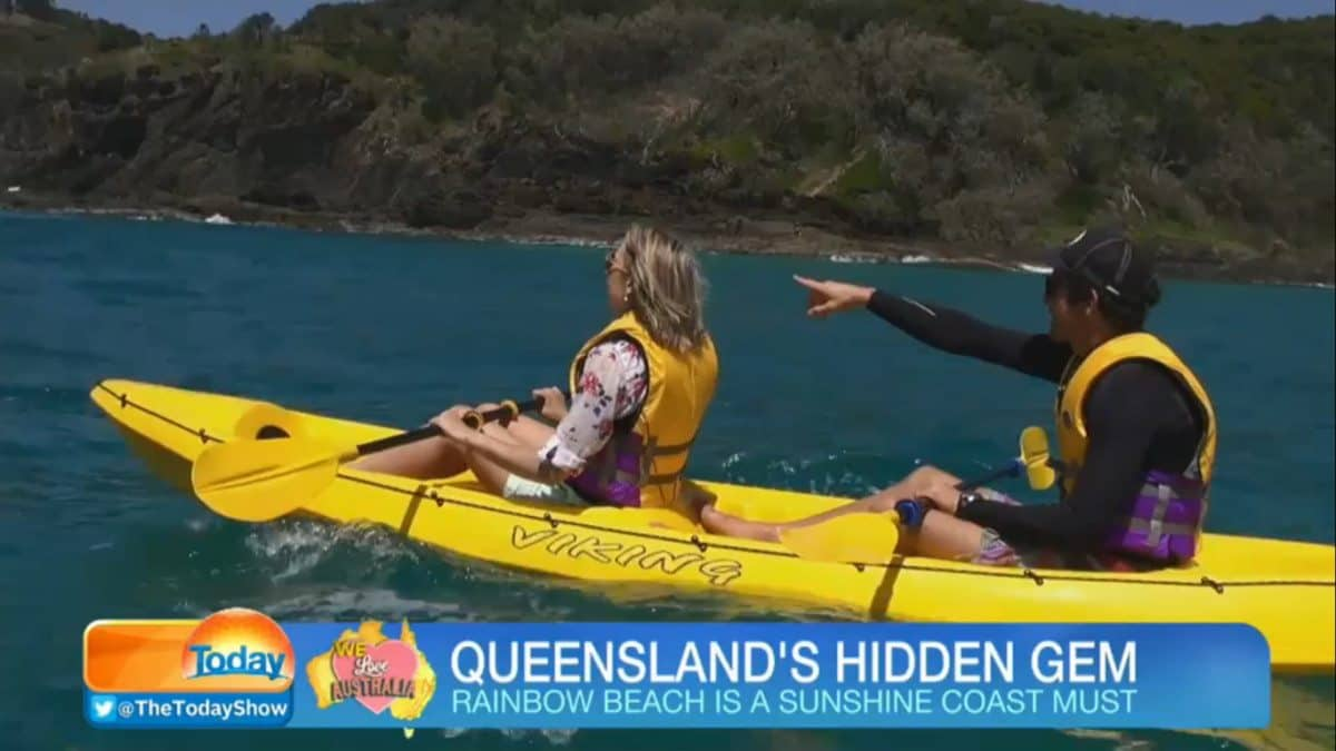 The Today Show Rainbow Beach & Epic Ocean Adventures