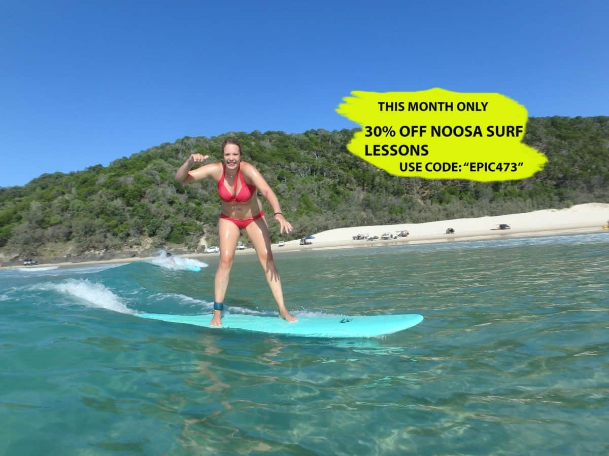 Noosa learn to surf discount