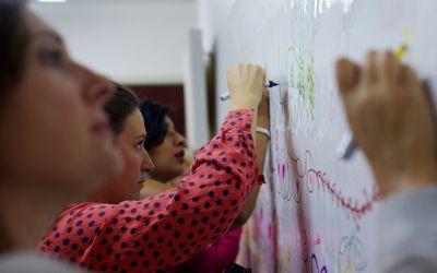La fresque participative d'Epicoop