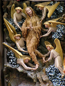 Mary Magdalene with angels