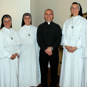 These sisters enjoying time with brother priests
