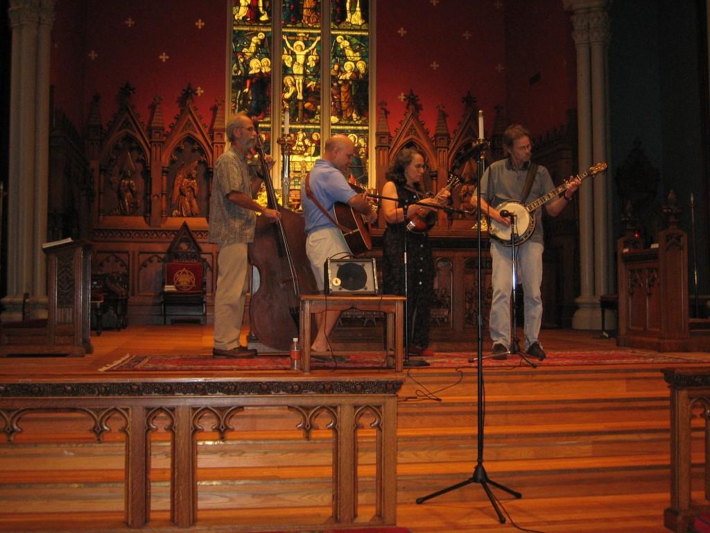 Folk Mass Band Upset Over Masses Interrupting Their Concerts