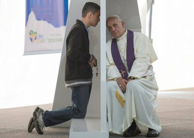 The sacrament of Confession is more powerful than an exorcism.