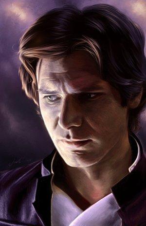 """Han Solo"" by AmandaTolleson https://amandatolleson.deviantart.com/art/Han-Solo-561908187"