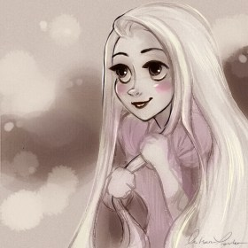 """Rapunzel- Quick Sketch"" by mistsouparker https://mitsouparker.tumblr.com/image/115770354041"
