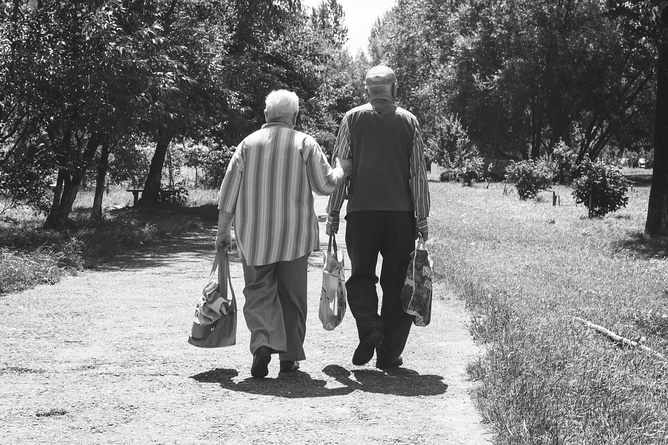 When you grow old together, you want to. . .