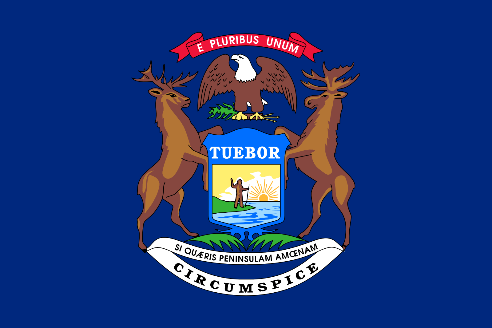 Who is the patron saint of Michigan?