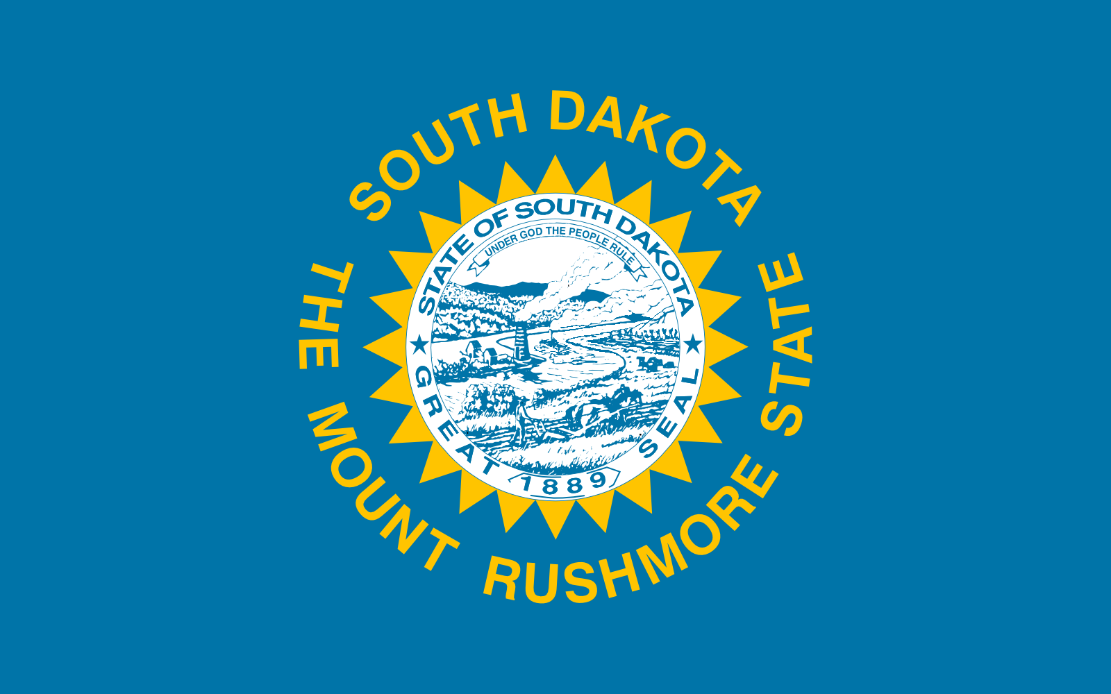 Who is the patron saint of the great state of South Dakota?