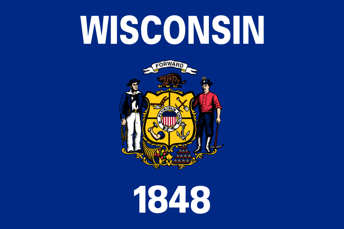 Who is the patron saint of Wisconsin?