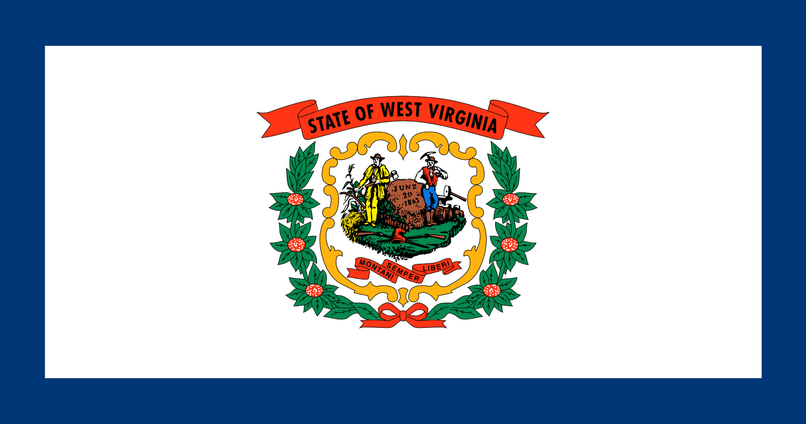 Who is the patron saint of West Virginia?