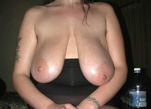 saggy tits tied up