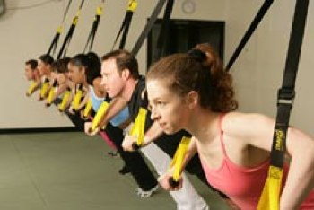 TRX system workout