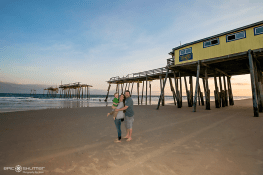 Family Photos, Frisco Pier, Epic Shutter Photography, One Year Portraits, Outer Banks Photographer, OBX, Hatteras Island, Nikon, Frisco, Buxton, Hatteras Island Photographers, Pet Photos, Beach Pet Photos, Pet Family photos