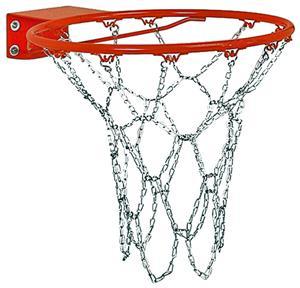 Markwort Metal Chain Basketball Goal Net ONLY - Basketball Equipment and Gear