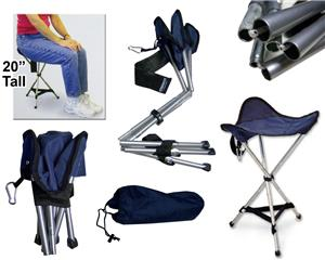 tall fishing chair bar height folding tripod stool portable seat closeout sale soccer