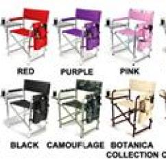 Picnic Time Sports Chair Comfortable Swivel Folding With Strap Soccer Equipment And Gear