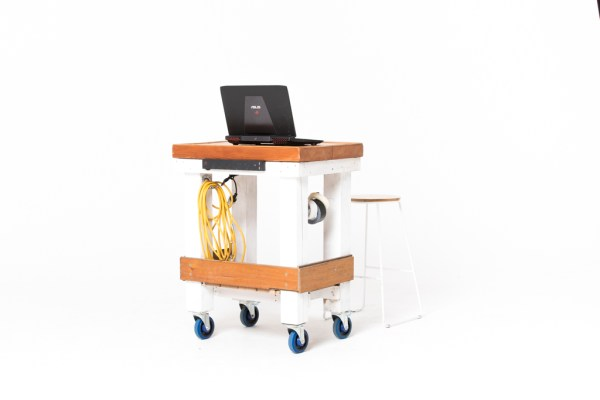 Photography tether table