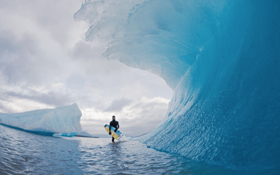 Ice Surfing Session