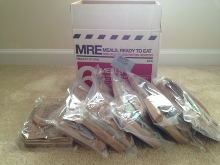 MRE 6 Meals