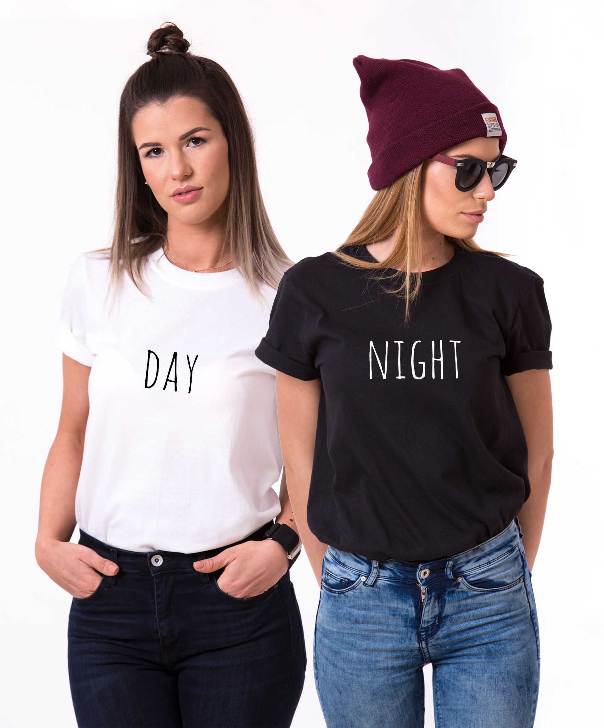 Day Night Matching Shirts Matching Best Friends Shirts