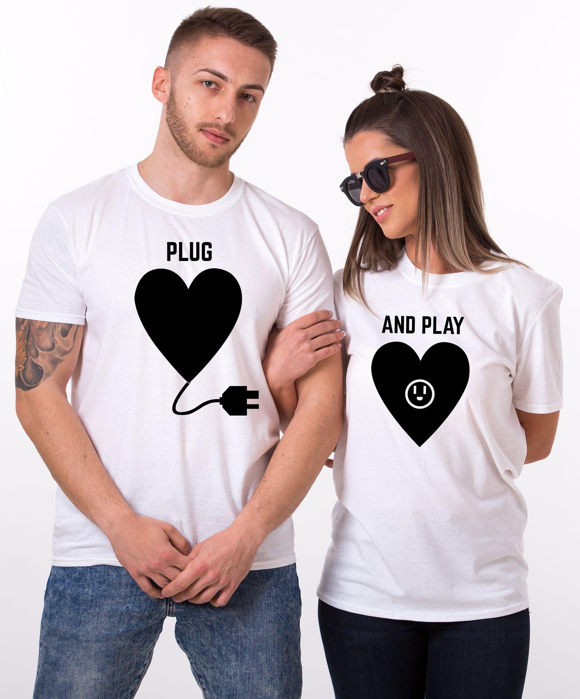 Plug Play Shirts Plug And Play Matching Couples Shirts