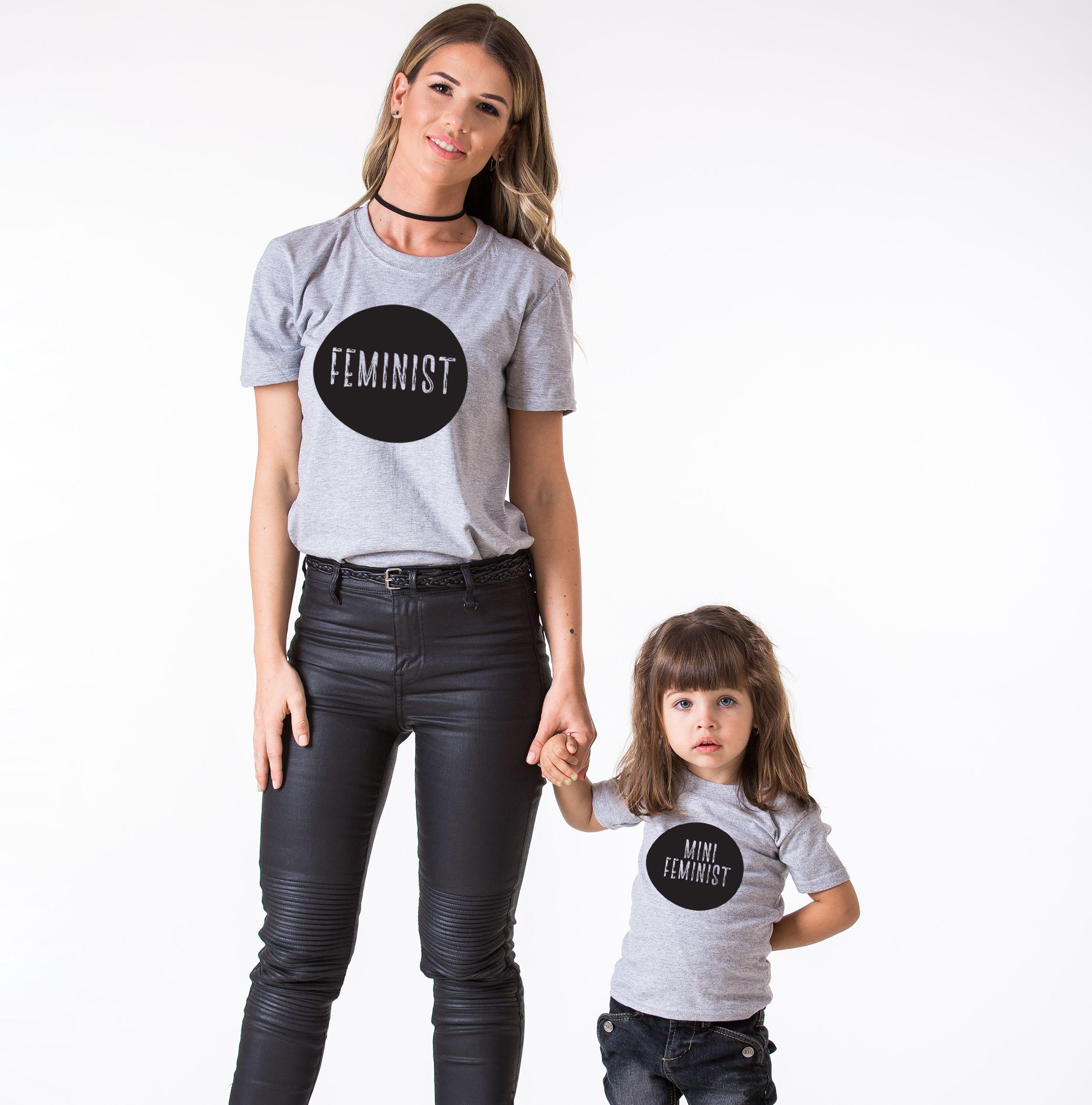 Feminist Mini Feminist Shirts Matching Mommy And Me Shirts
