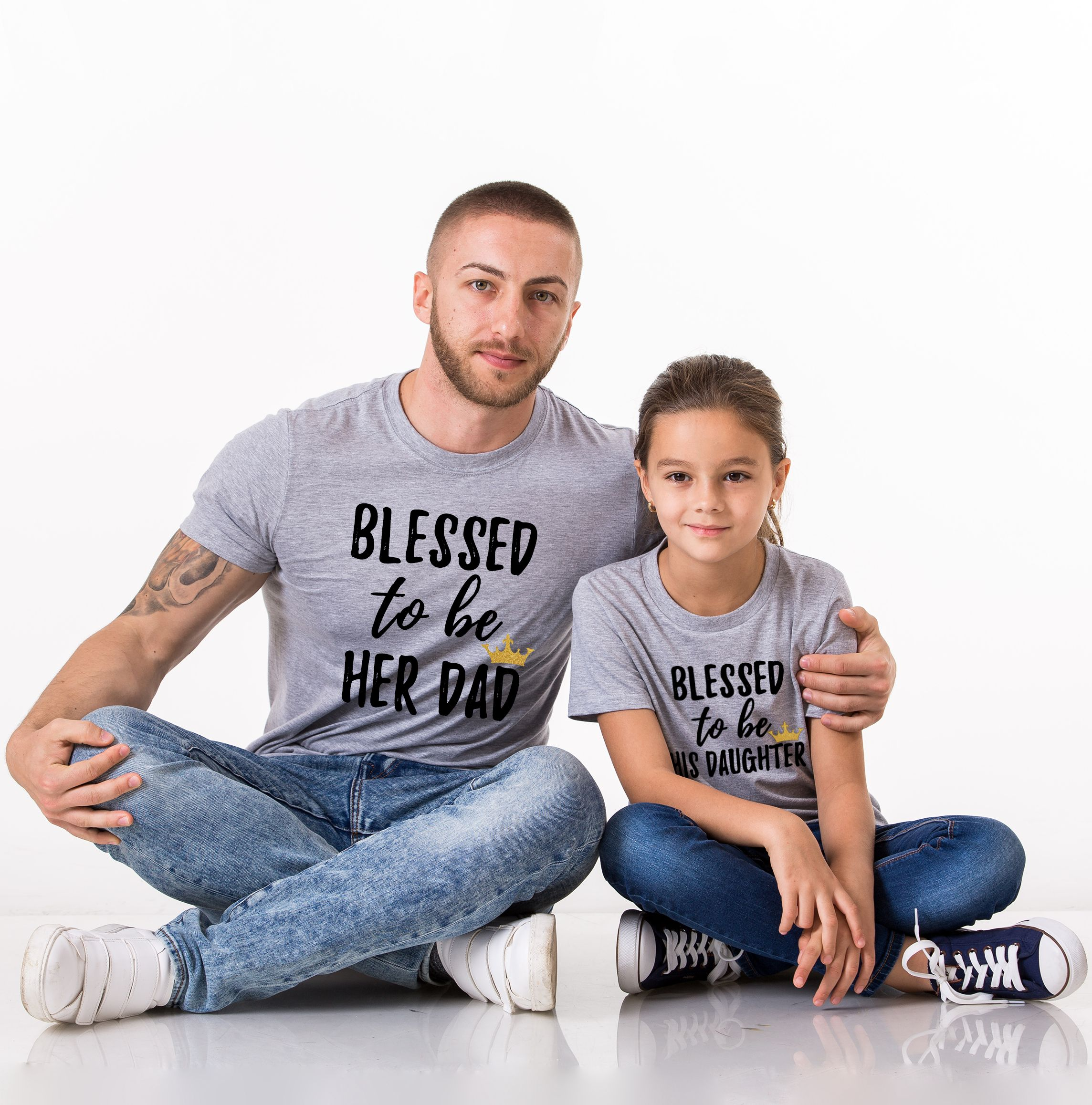 Father Daughter Shirts Blessed To Be Her Dad His Daughter