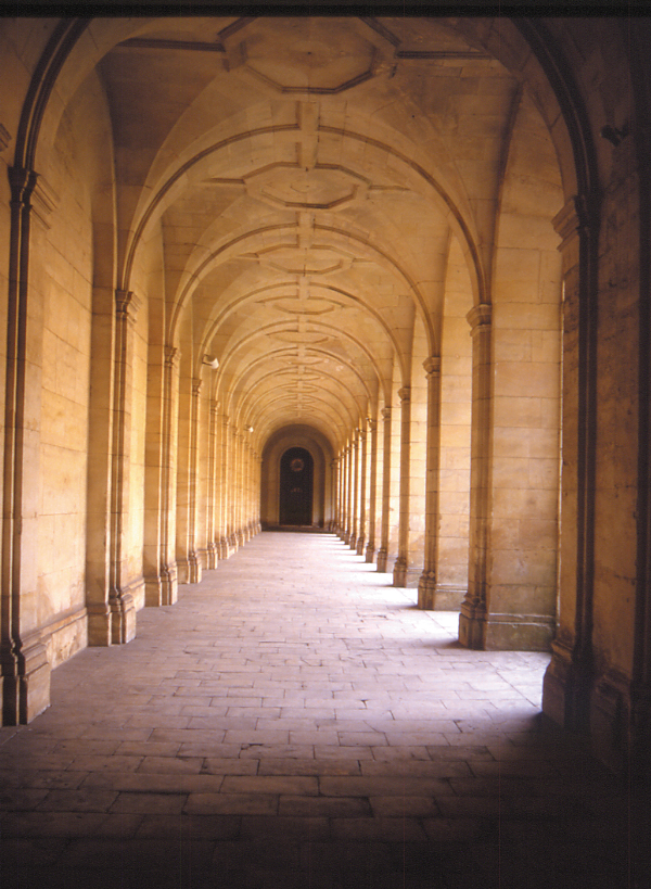 Arches, Abbey aux hommes, Caen, Normandy, France