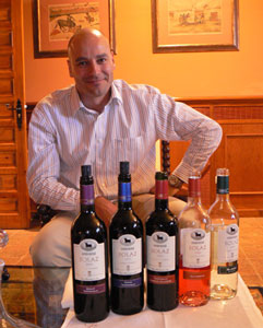 Cezar Fernandez, director of winemaking at Osborne's Malpica winery 70 miles southwest of Madrid