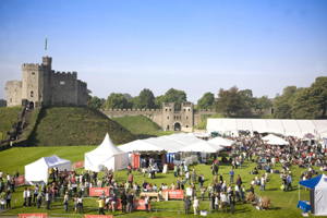 CARDIFF AND THE GREAT BRITISH CHEESE FESTIVAL