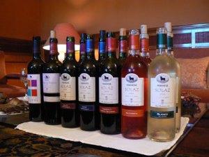 Osborne's Malpica wines