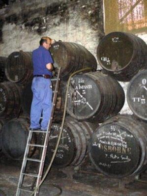 Osborne's sherry solera