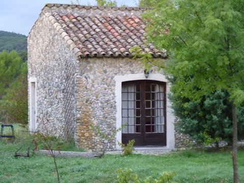 The mazet, smallest of La Bruguière's accommodations