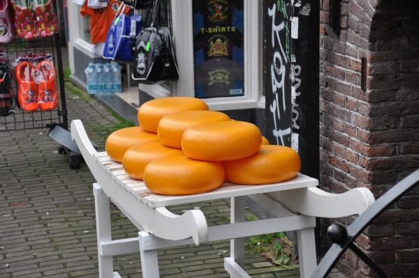 You can buy cheese at open air markets.