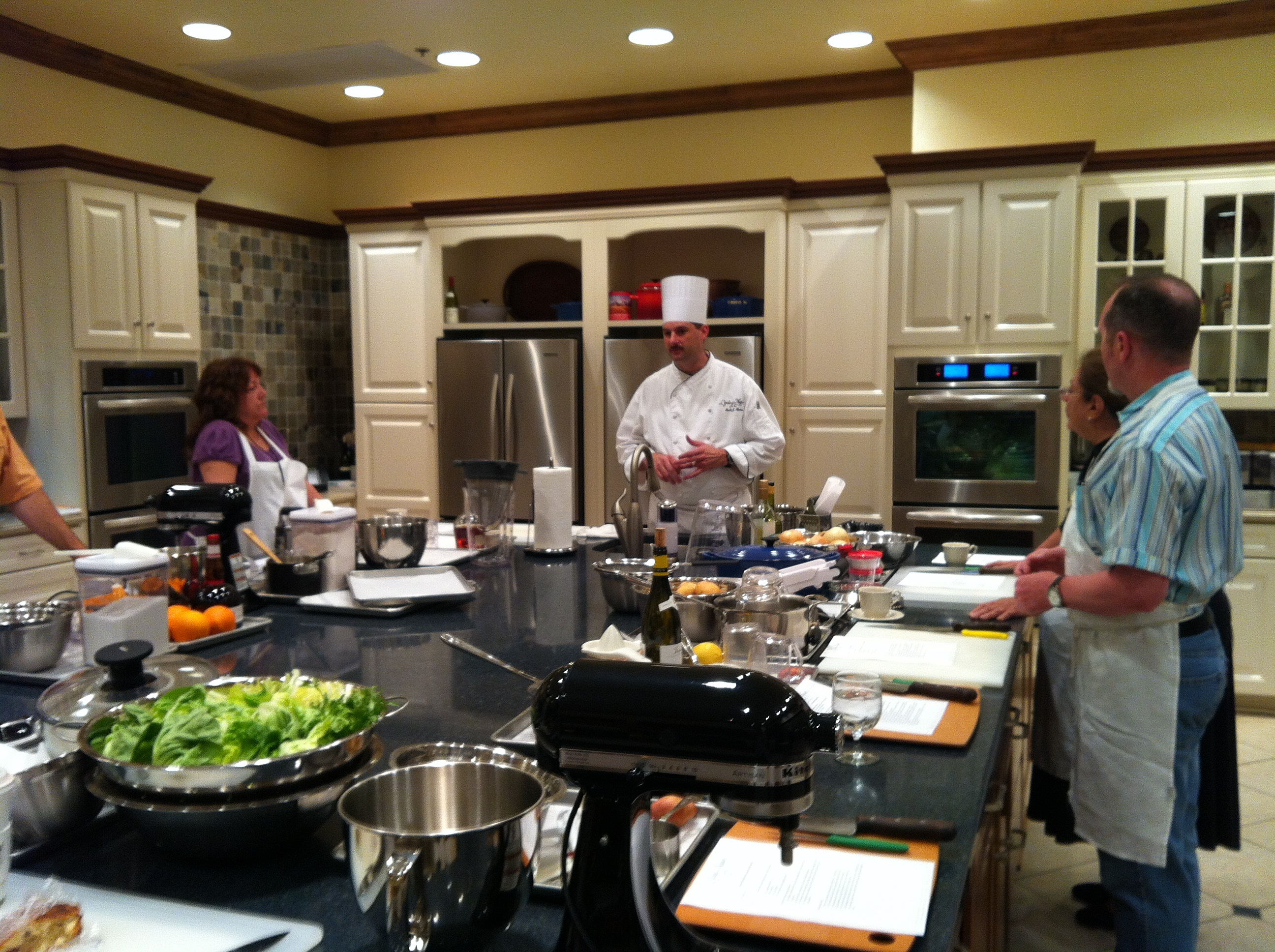 l'ecole de la maison cooking school at the osthoff resort