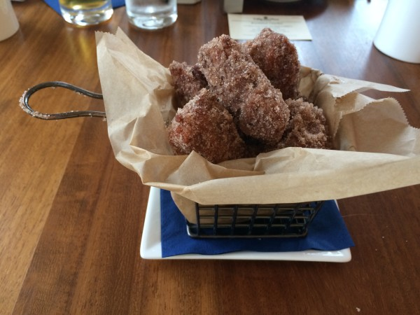 Cinnamon Doughnuts at Echo.