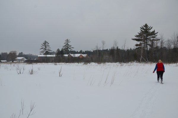 Snowshoeing at Crooked River Lodge