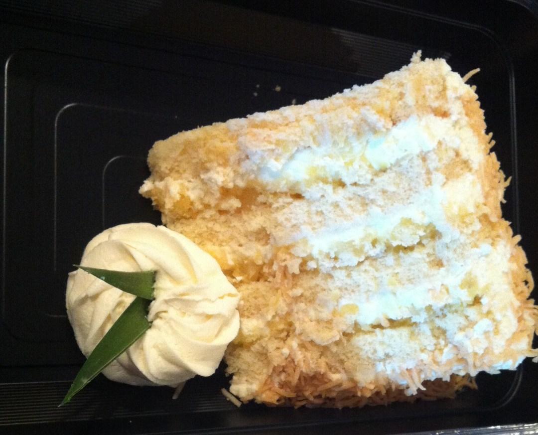 Pina Colada Cake from Tommy Bahama.