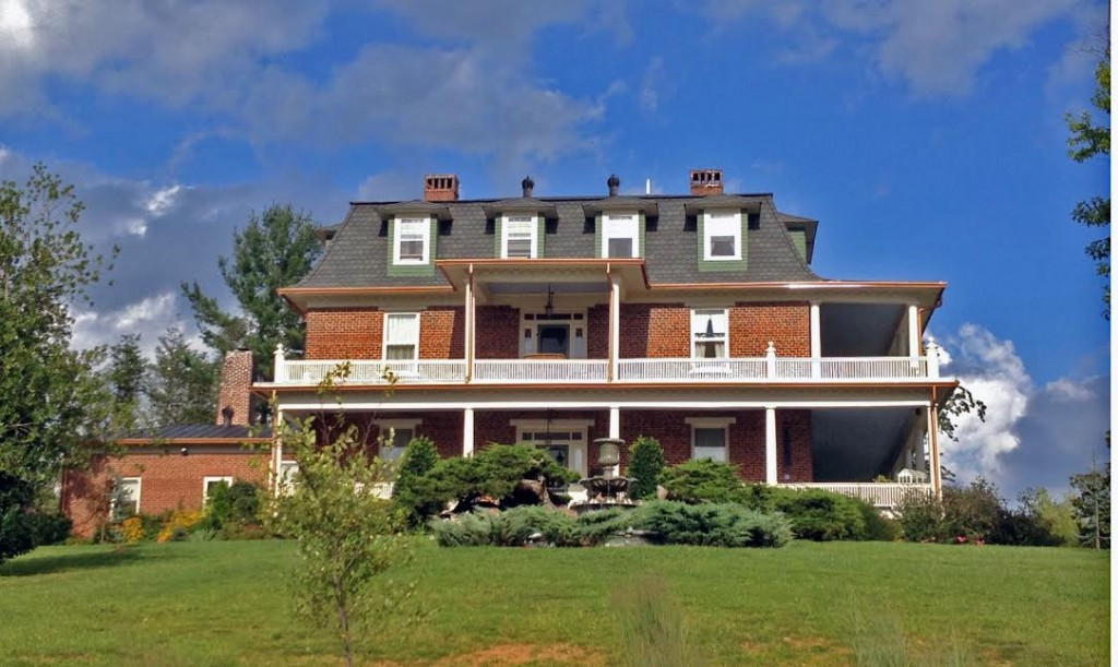 The Reynolds Mansion in Asheville, North Carolina.
