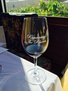 Romancing the Rhones glass