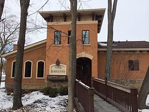A villa at the Gervasi Vineyard in Canton, Ohio.