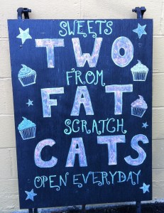 Welcome to Two Fat Cats Bakery!